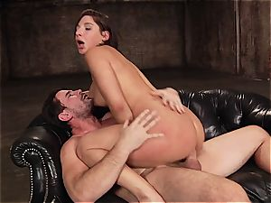 Abella Danger pounded in her large booty fuck-hole