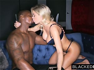 BLACKEDRAW Jessa Rhodes loves Late Night big black cock