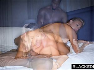 BLACKEDRAW blondie trophy wife Cucks Her husband With big black cock
