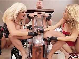 spunky Ms. Alexis Fawx dominates her fresh enslaved