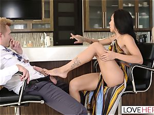LoveHerFeet - Sneaky hotwife foot fucky-fucky With The Realtor