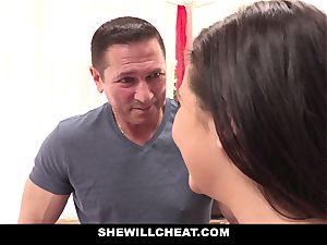 SheWillCheat hotwife girlfriend Karlee Grey porks Trainer