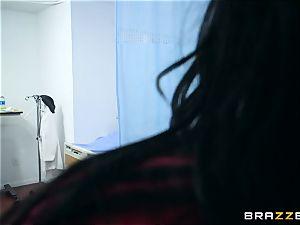 Monster fuck-stick inhaling nurses Chanel Preston and Veruca James