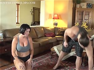 cougar Jodi West bangs fellow