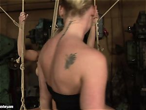 Kathia Nobili enjoy boinking the scorching damsel with fuck stick