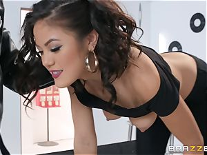 Kendra Spade fucked in her trimmed cooch and rectum