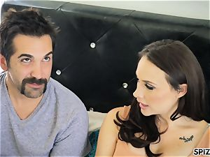 Spizoo - see Chanel Preston fellating and nailing