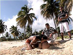 group fuckin' on sunny shores