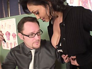 groaning and groaning Priya Rai popped in the vagina by headteacher