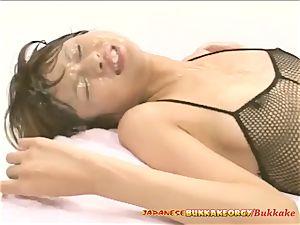 ass fucking Creampies - asian bukkake bang-out
