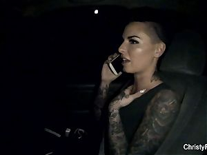 Throwback behind-the-scenes footage with Christy Mack
