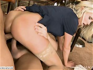 tipsy Head with his friend romped barmaid