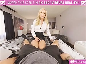 VRBangers.com-MILF is sticking a magic wand in her cooter