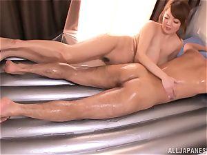 Hitomi Tanaka lubed up